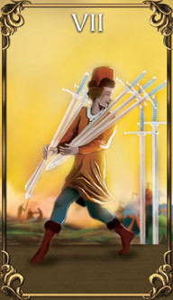 7 of Swords