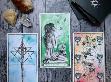Last Quarter Moon in Libra Tarot Spread