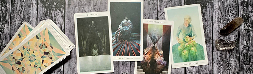 A Tarot spread from 3AM tarot for Mercury Direct in Libra.